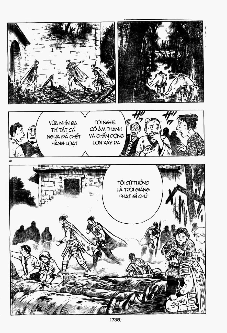 Hoàng Phi Hồng Phần 4 chap 89 Trang 10