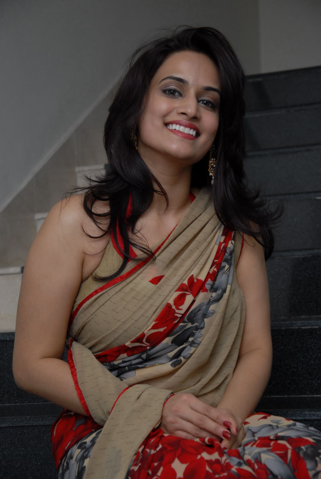Actress Chinmayi Ghatrazu Stills in Saree
