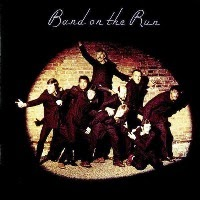 Band on the run album. Paul McCartney Wings