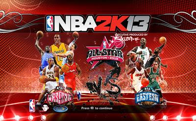 NBA 2K13 All-Star 2013 Startup Screen Patch