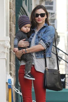Australian Model Miranda May Kerr and son Flynn