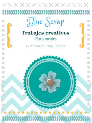 Blue Scrap. Papel, Arte y Libros.