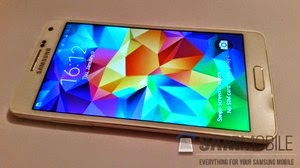 Samsung galaxy a3 and a5 Appear on video