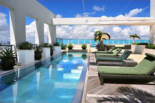 The art of living setai miami beach - Rooftop swimming pool designing and planning ...