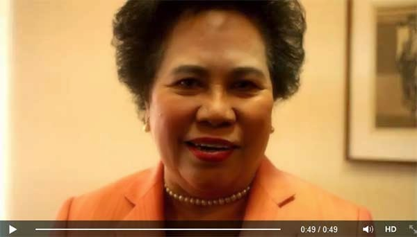 Miriam Santiago: My message to Facebook and Twitter friends