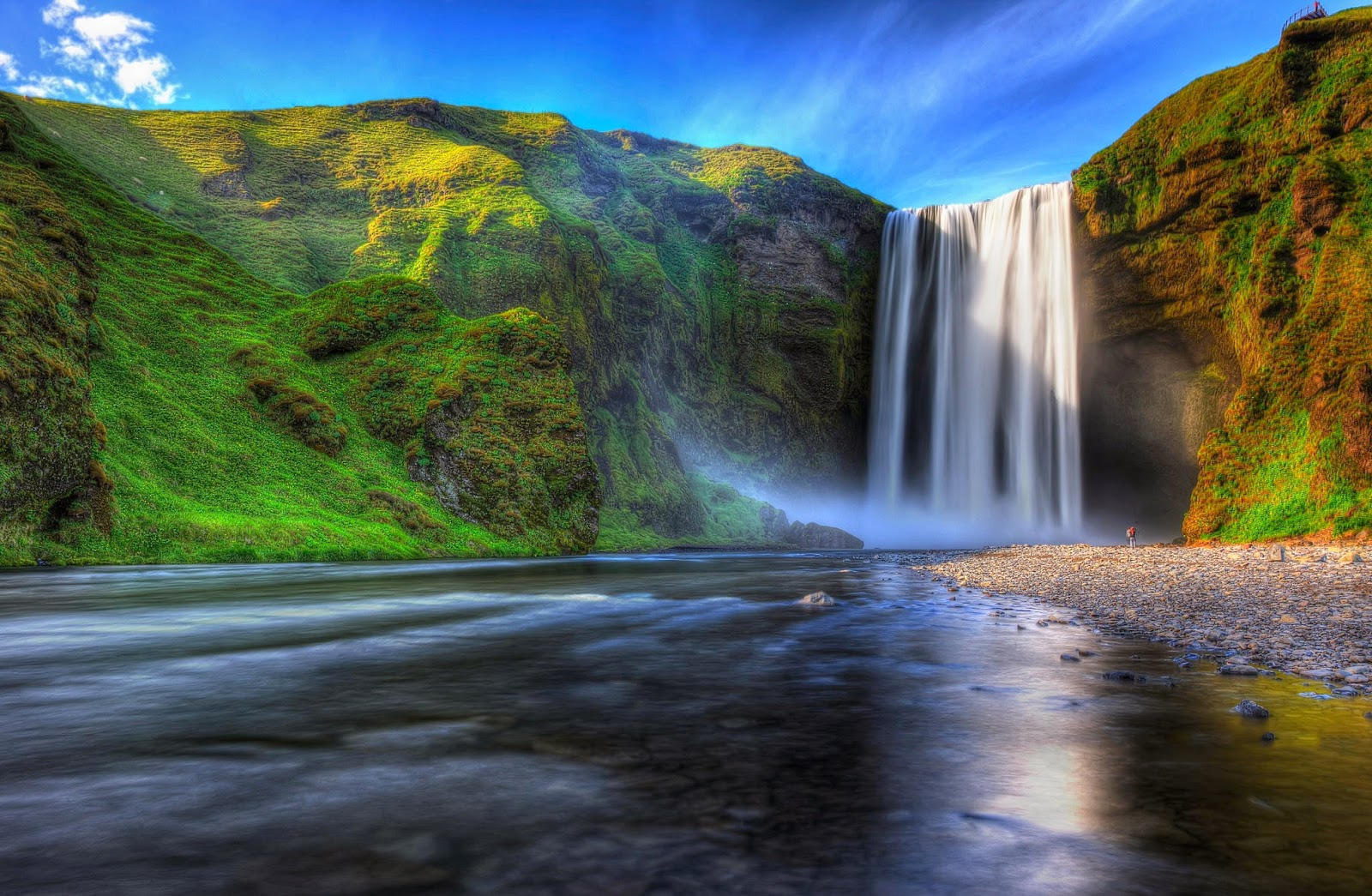 BANCO DE IMGENES 33 fotografas de cascadas con hermosos paisajes