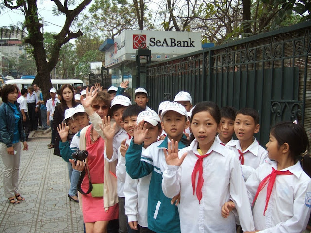 Photo par Robert Sempéré à Hanoi