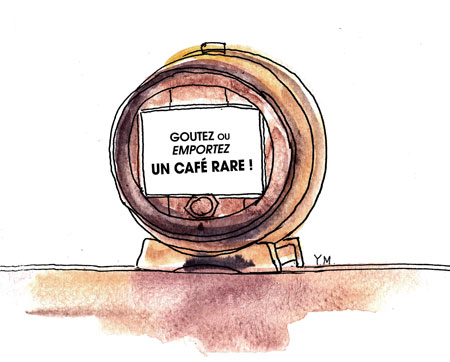 Café rare by Yukié Matsushita