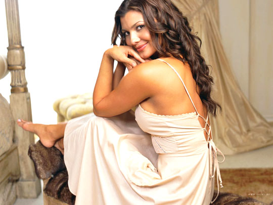 American Actress and Model Ali Landry