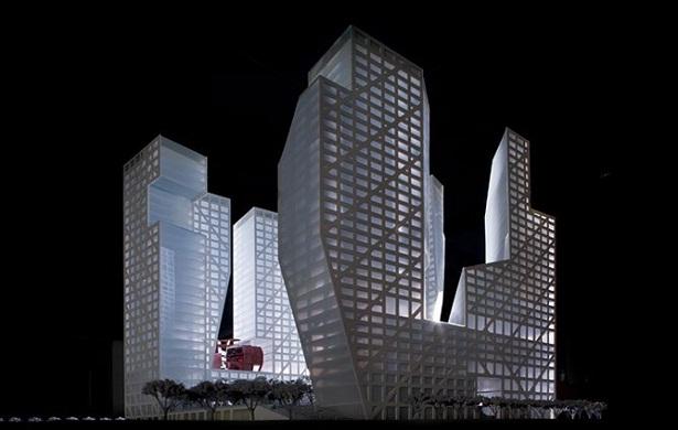 Tòa nhà Sliced Porosity Block ở Thành Đô (Trung Quốc)