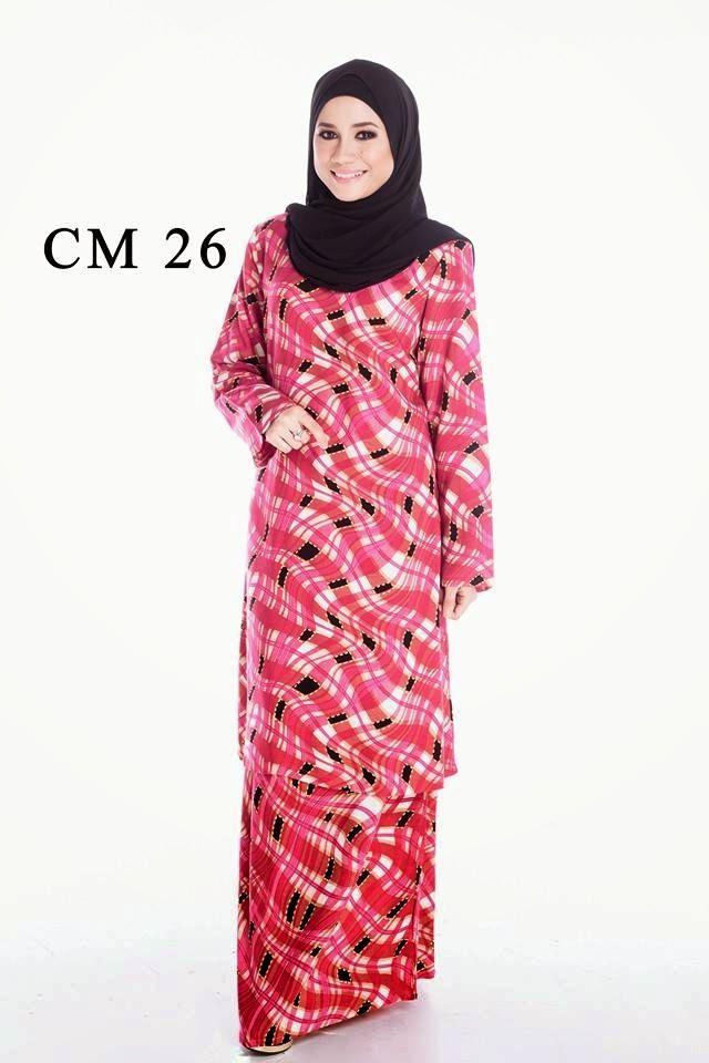 Milla Baju Kurung Cotton Moden 26