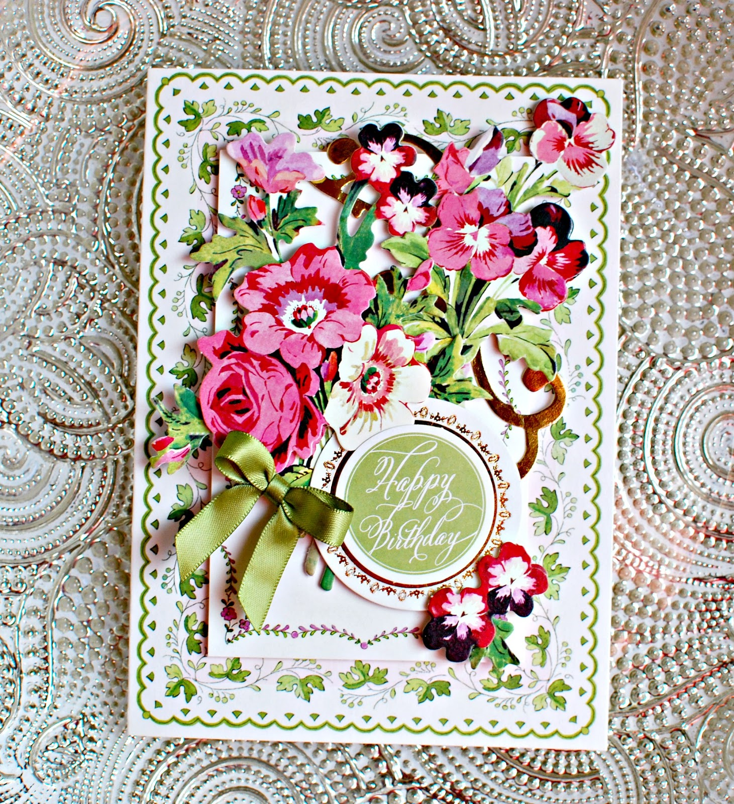 Crafty creations with shemaine pretty paintings card kit by anna heres a few i put together using the kit for its hsn debut back in march mightylinksfo