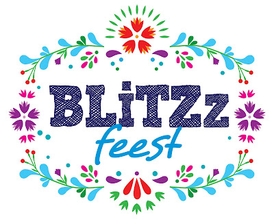Blitzz Feest logo ontwerp