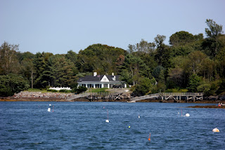 Harriet Beecher Stowe home Orr's Island