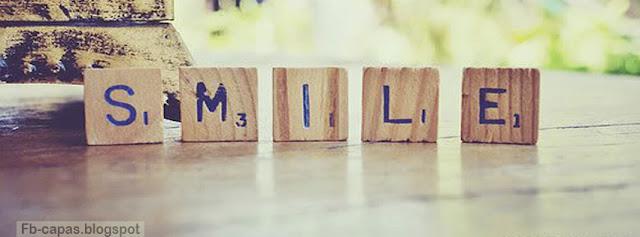Capa para facebook Smile