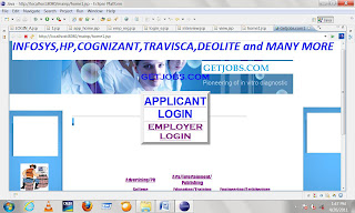 Online Job Portal Java Project