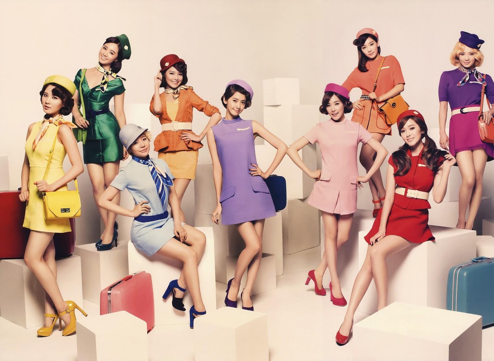 SNSD Girls Generation Girls & Peace Japan 2nd Tour Wallpaper HD