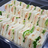 Sandwich Slice Chicken with Cheese