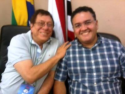 Julião Amin e Roberto Rocha