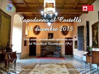 Capodanno al Castello 31 dicembre 2015 Ristorante Le Scuderie del Castello Castello Dal Verme di Zavattarello (PV)