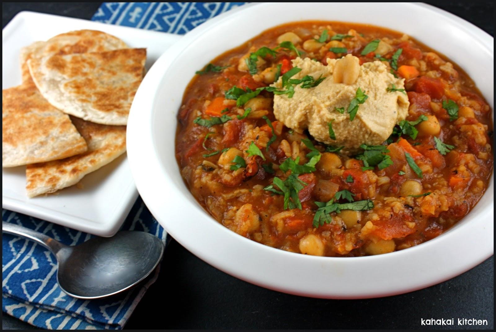 Kahakai Kitchen: Indian-Spiced Tomato, Rice, & Chickpea ...