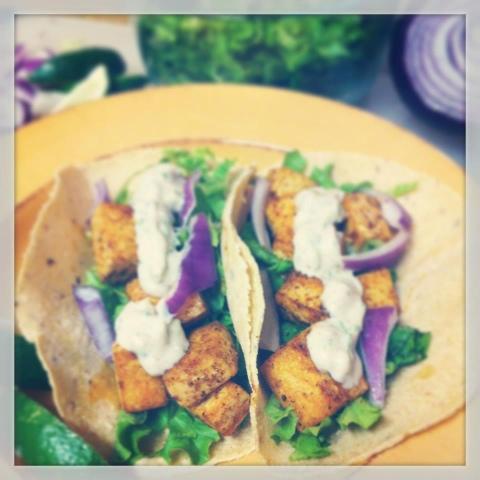 Gluten free vegan journey virtual potluck birthday party for Vegan fish tacos