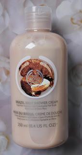 Crème de douche à la noix du Brésil