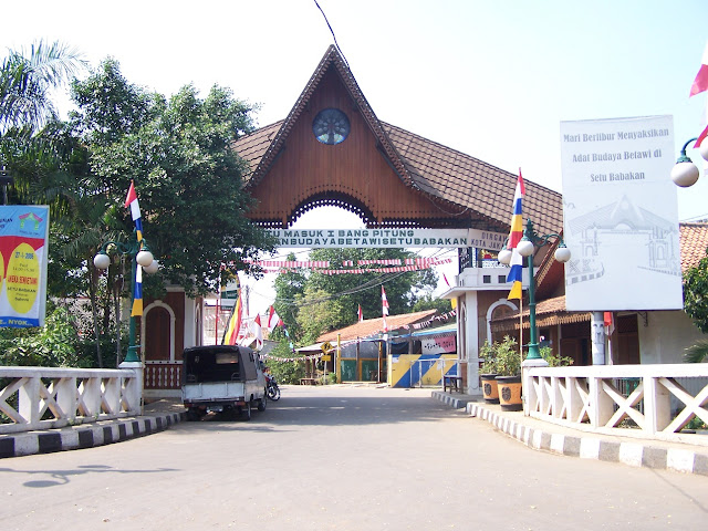 The Culture of Betawi at Setu Babakan