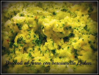 broccoli al forno dukan