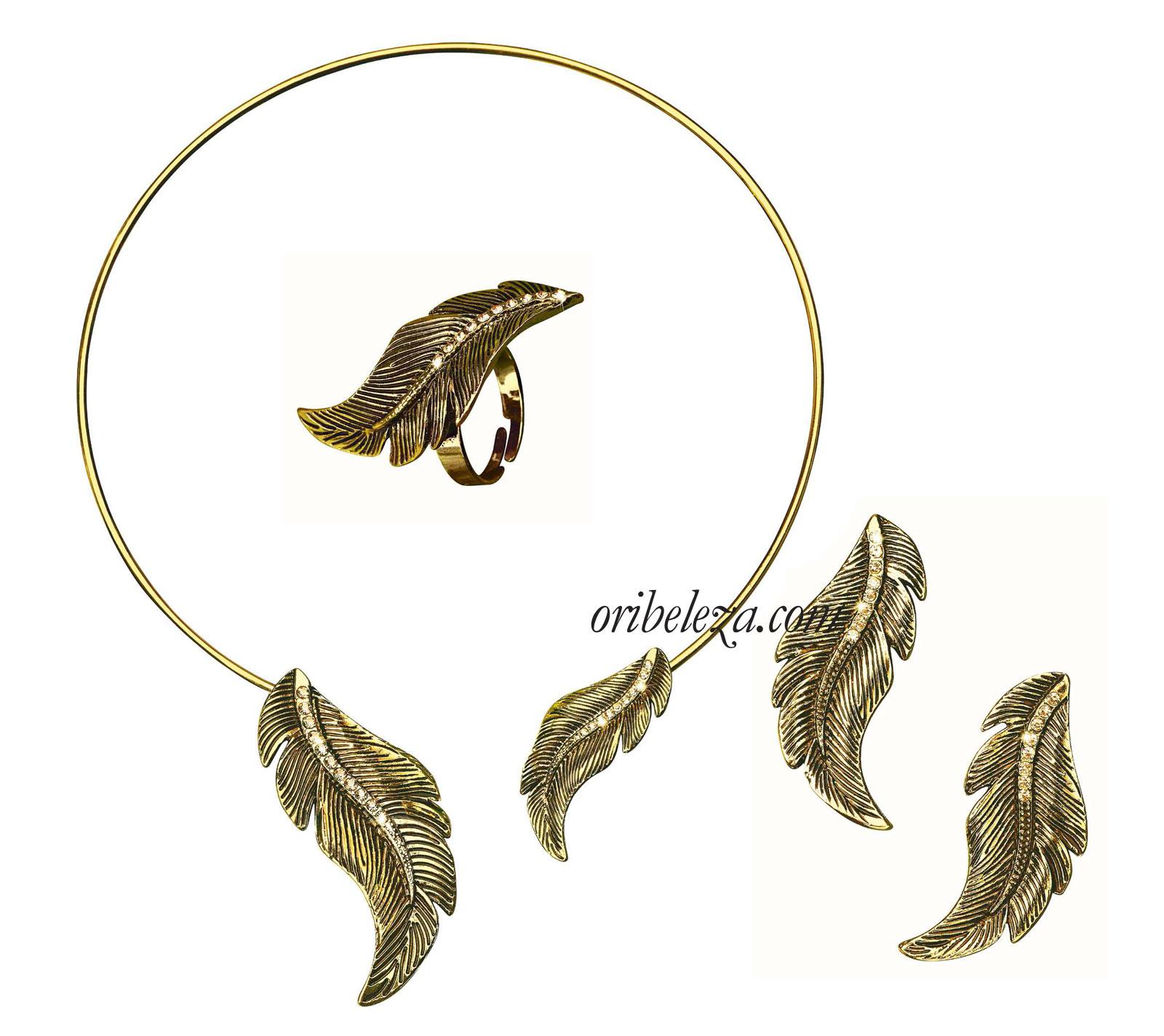 Coleção Golden Leaf da Oriflame
