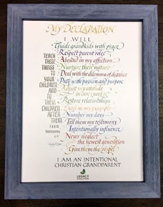 My Declaration Art Print