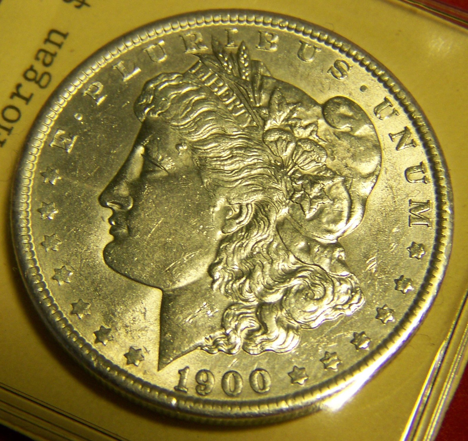 My Coin Pictures 1900 U S Uncirculated Silver Morgan Dollar