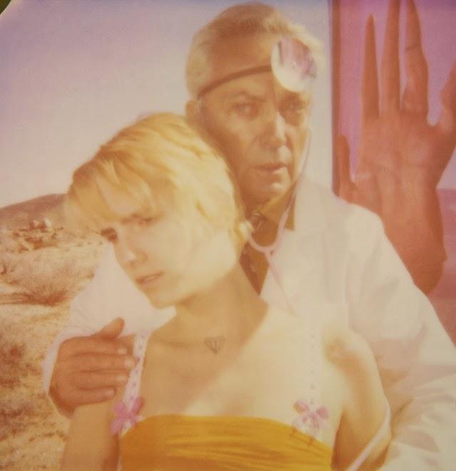Stefanie Schneider. The Girl behind the white picket fence. Polaroid stills | Trailer