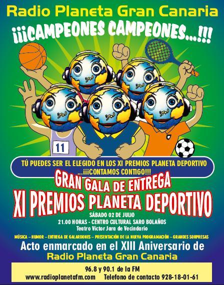XI Premios Planeta Deportivo