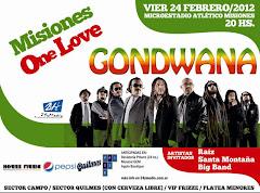 GONDWANA EN CONCIERTO!!! VIER 24 FEB 2012 - 20hs