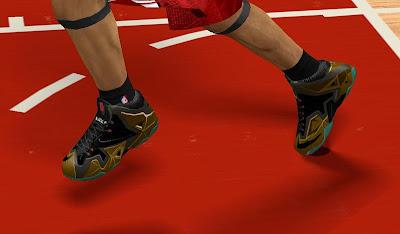 """NBA 2K13 Nike LeBron 11 """"Army Slate"""""""