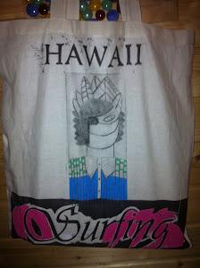 Hawaiiano bolsos de verano