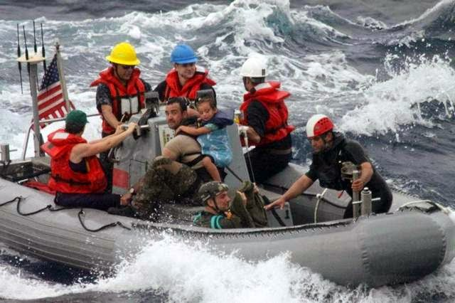 Military News - Family's misadventure at sea has public costs