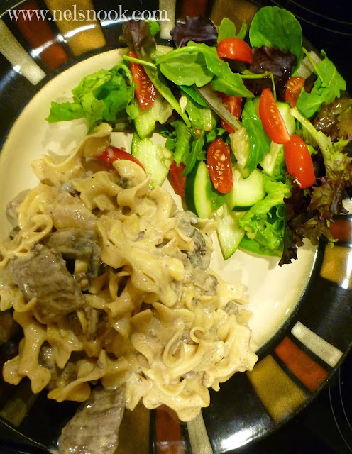Beef Stroganoff- great dinner for feeding a crowd!