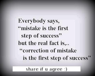 First Step of Sucess