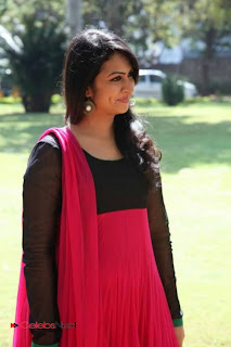 Sagari Venkata Stills in Salwar Kameez at All Want Everything Movie Trailer Launch 0009