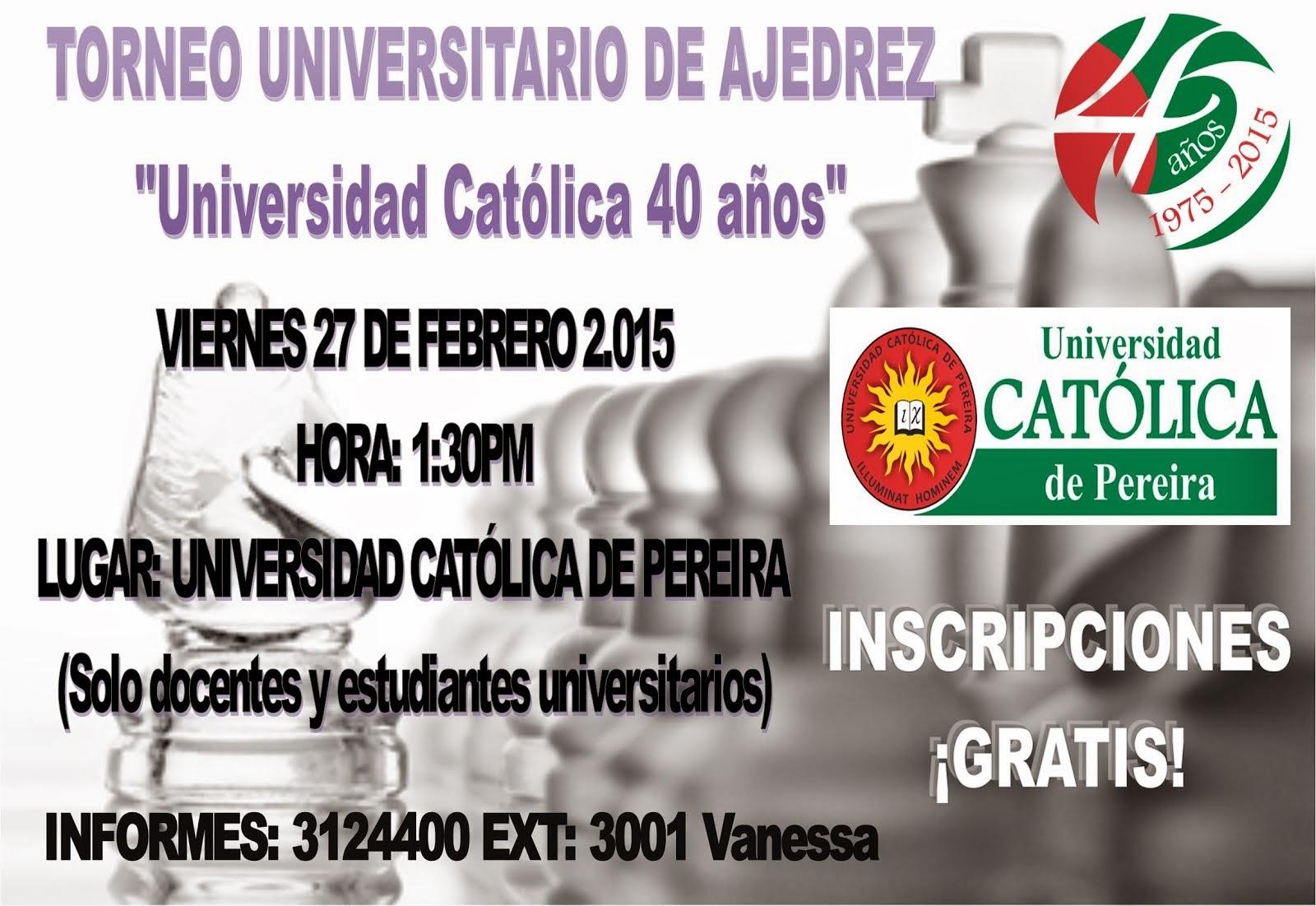 Torneo Universitario de Ajedrez