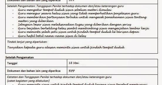 Download Contoh Isian Lembar Observasi Komplet 14 Kompetensi Sdn 2 Pasar Batu