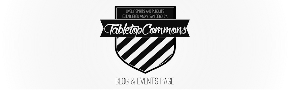 Tabletop Commons Blog & Events