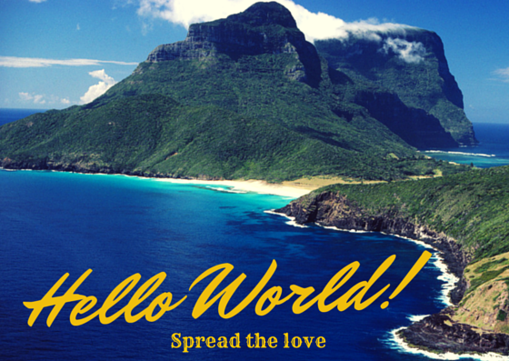 Celebrate World Hello Day