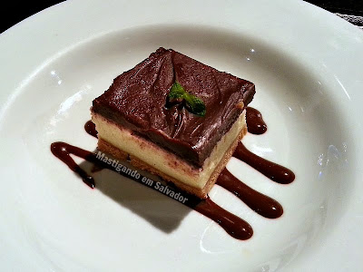 33 Restaurante na Salvador Restaurant Week 2015: Cheesecake de Chocolate