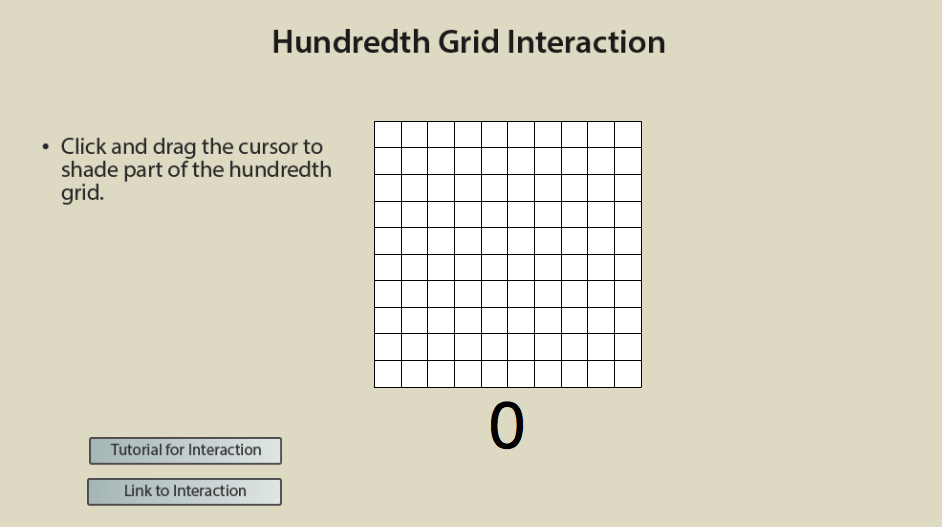 photograph regarding Printable Hundredths Grids known as Algebra Well prepared: Connections