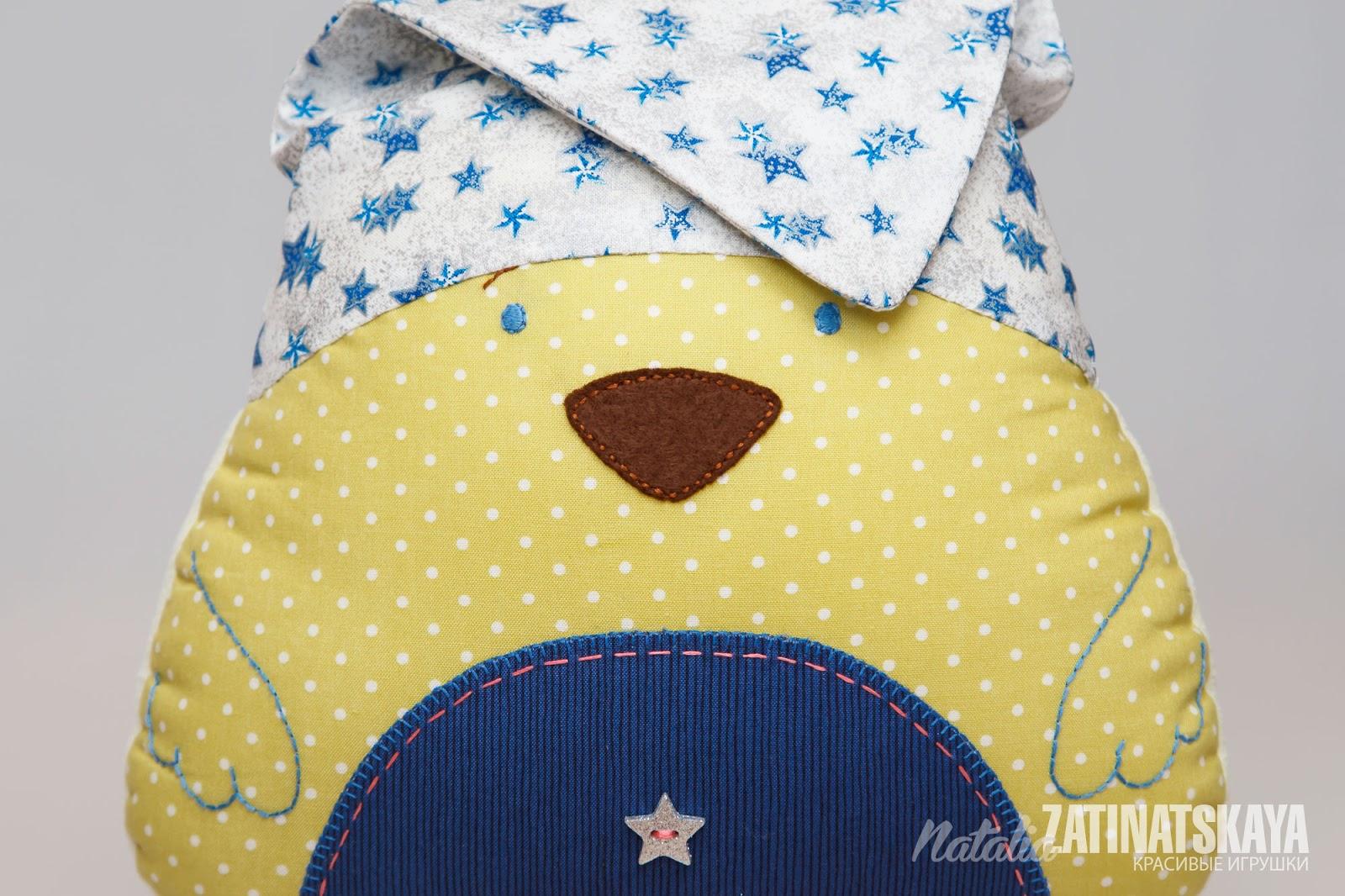 Сшить детскую подушку игрушку