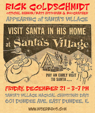 My 2nd appearance at Santa's Village this holiday season will be on December 21st!
