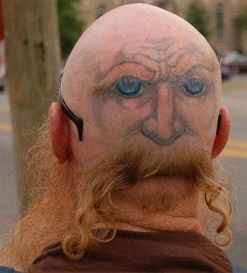 Doppia faccia col tatuaggio for Two faced tattoo